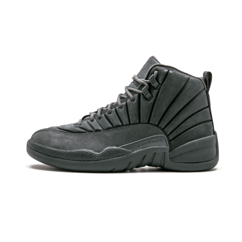 "Air Jordan 12 Retro ""PSNY"" Dark Grey/Dark Grey-Black 130690-003"