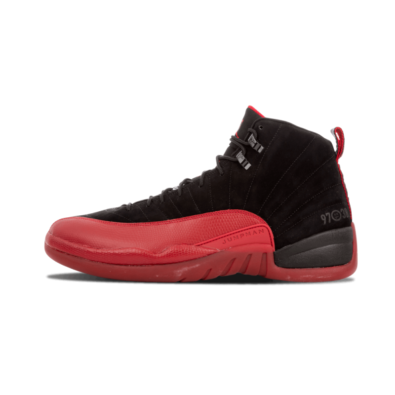 "Air Jordan 12 Retro ""Flu Game"" Black/Varsity Red 130690-065"