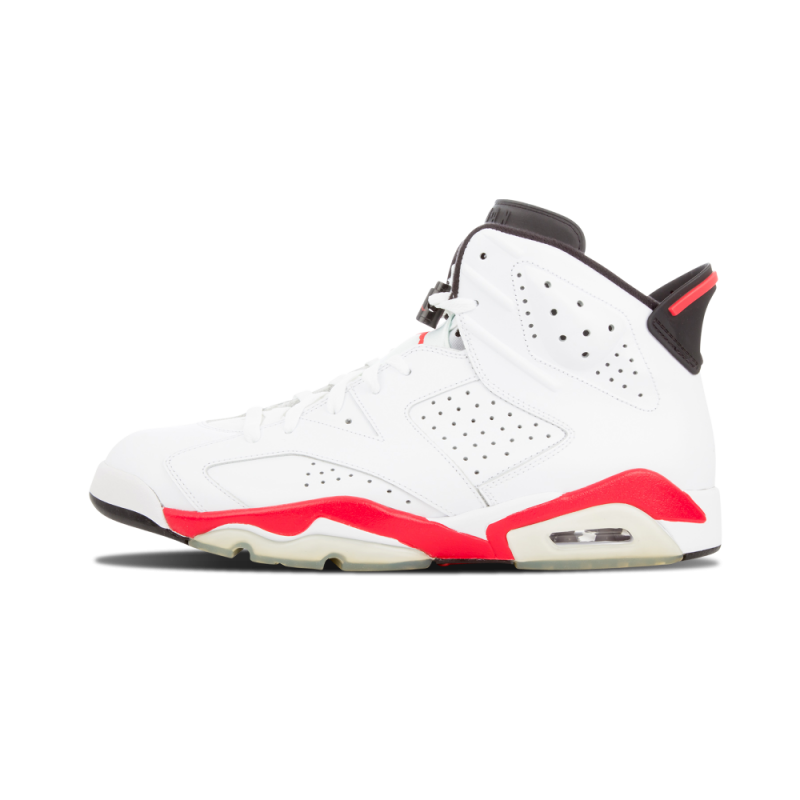 "Air Jordan 6 ""Infrared 6"" White/Red/Black 384664-103 Black Friday"