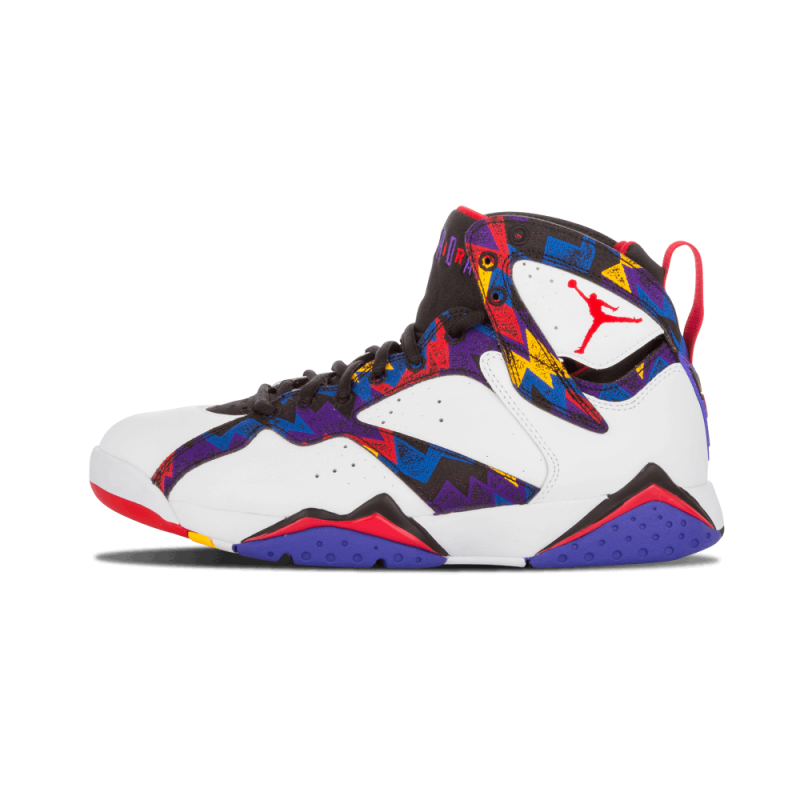 "Air Jordan 7 Retro ""Sweater"" White/University Red-Black 304775-142"