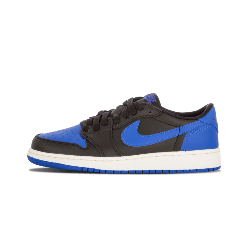 Air Jordan 1 Retro Low OG WMNS Black/Varsity Royal-Sail 709999-004