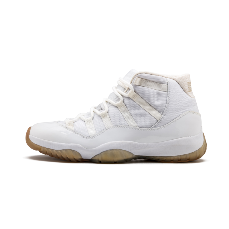 "Air Jordan 11 Retro ""Anniversary"" White/Metallic Silver 408201-101"