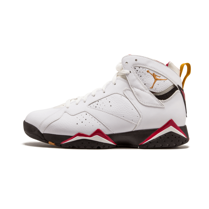 "Air Jordan 7 Retro ""Cardinal"" White/Bronze-Red-Black 304775-104"