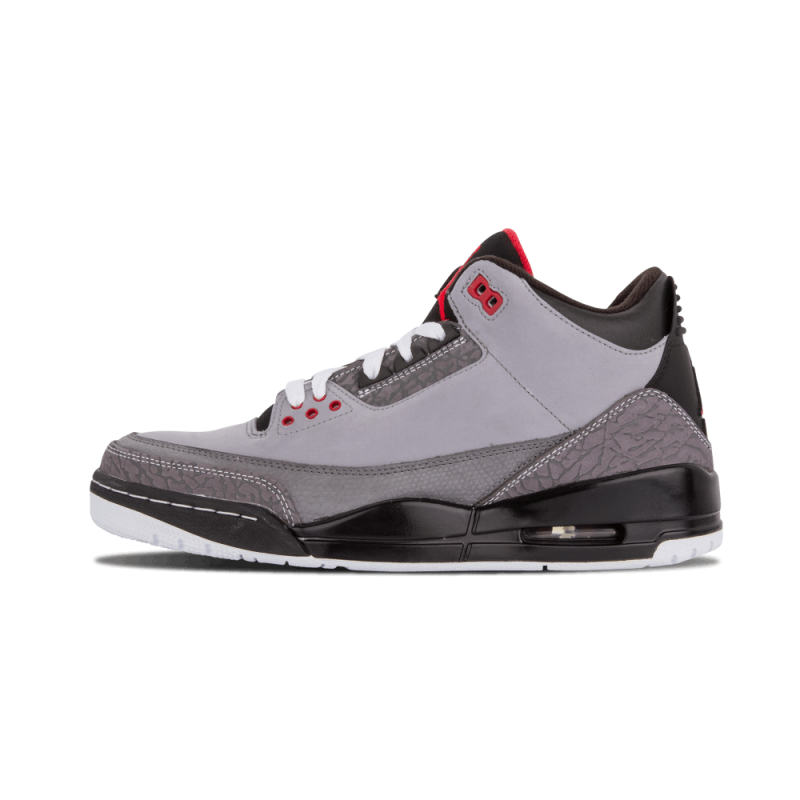 "Air Jordan 3 Retro ""Stealth"" Stealth/Red-Graphite-Black 136064-003"