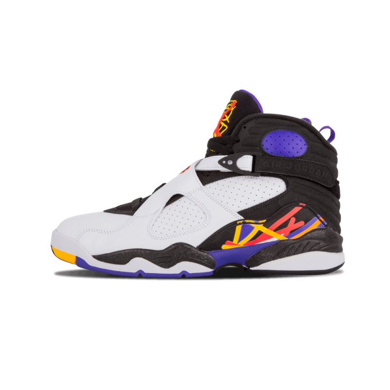 "Air Jordan 8 Retro ""Three-Peat"" White/infantred-Black 305381-142"