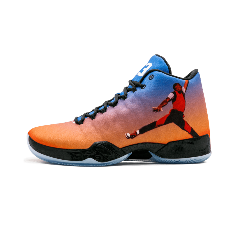 "Air Jordan 29 ""Photoreel"" Team Orange/Gym Red 695515-806"