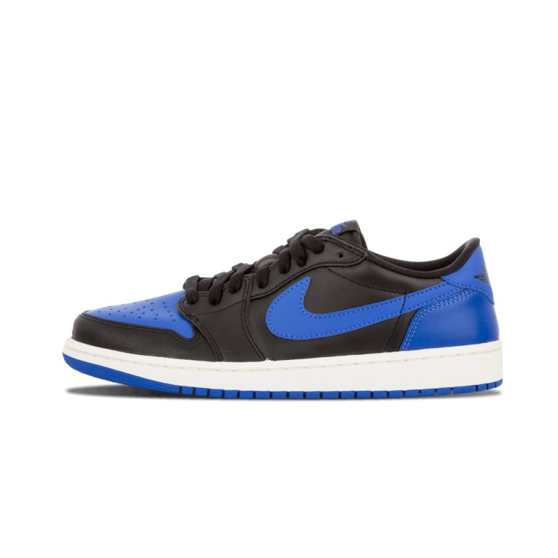 Air Jordan 1 Retro Low OG Black/Varsity Royal-Sail 705329-004