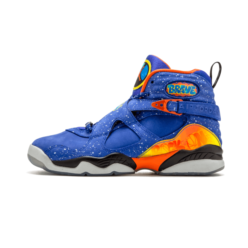 "Air Jordan 8 Retro DB WMNS ""Doernbecher"" Hyper Blue/Electro Orange 729894-480"