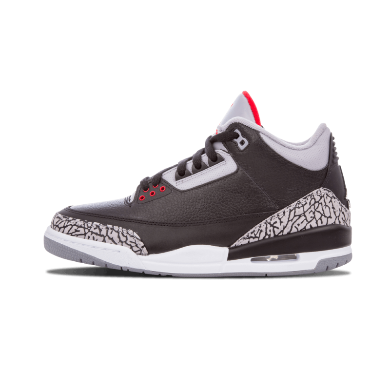 "Air Jordan 3 ""Countdown Pack"" Black/Grey/Red/White 340254-061"