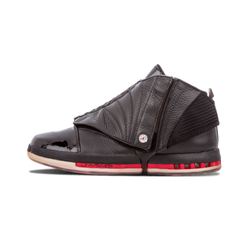 "Air Jordan 16 ""Countdown Pack"" Black/Red 322723-061 Cyber Monday"