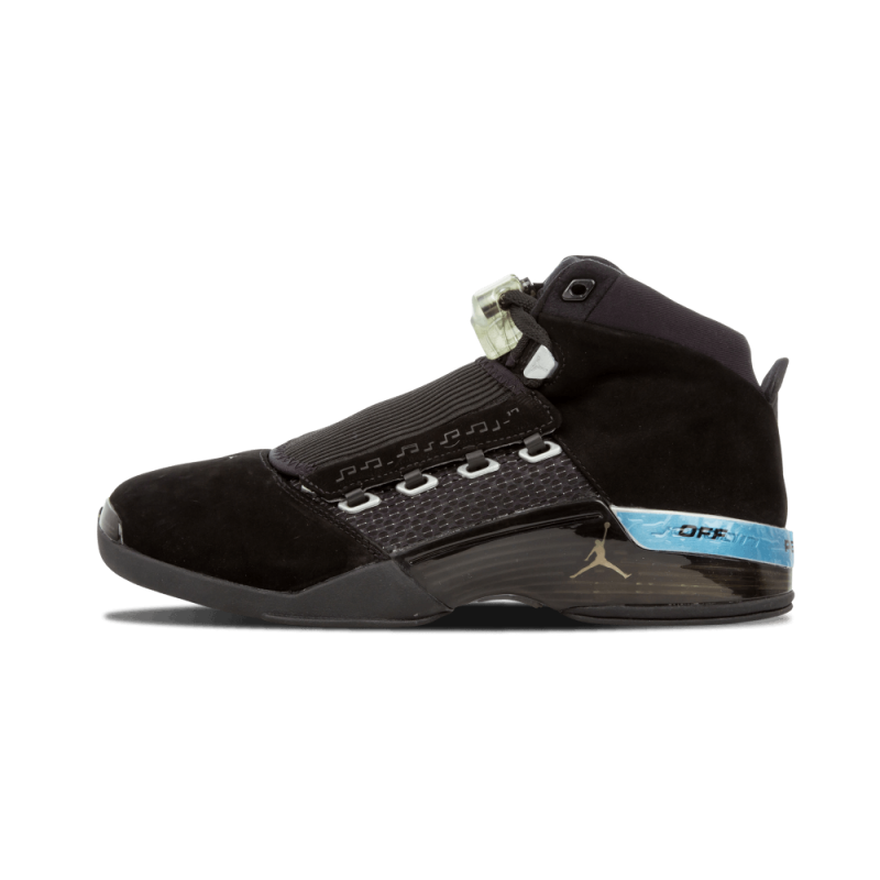 "Air Jordan 17 ""Countdown Pack"" Black 322721-001 Cyber Monday"