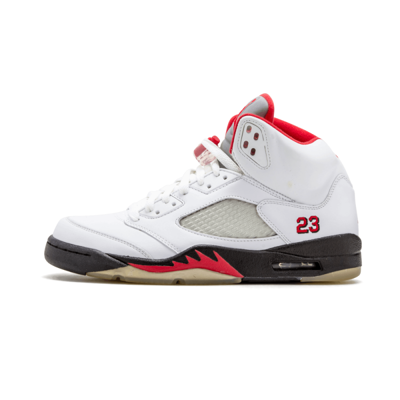 "Air Jordan 5 ""Countdown Pack"" White/Red/Black 136027-163"