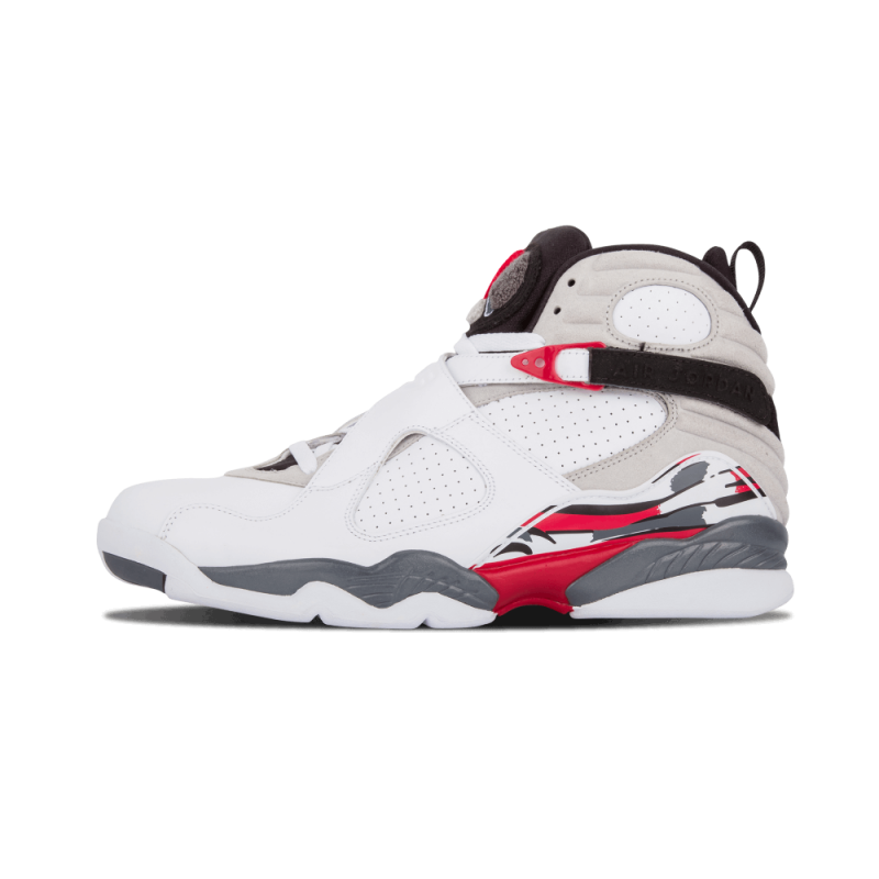 "Air Jordan 8 ""Countdown Pack"" White/Black/Red 305381-103"