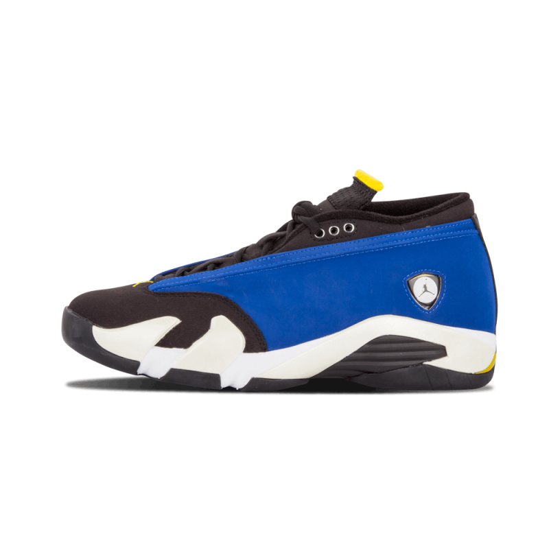 "Air Jordan 14 Retro Low ""Laneys"" Vrsty Royal/Varsity Maize-Black-White 807511-405"