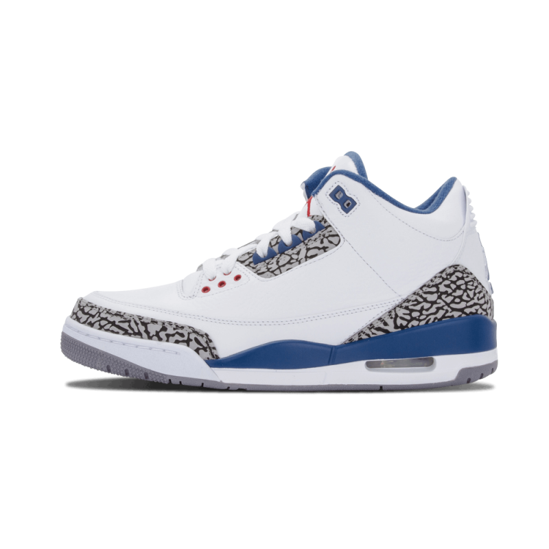 "Air Jordan 3 Retro ""True Blue"" White/True Blue 136064-104 Cyber Monday"