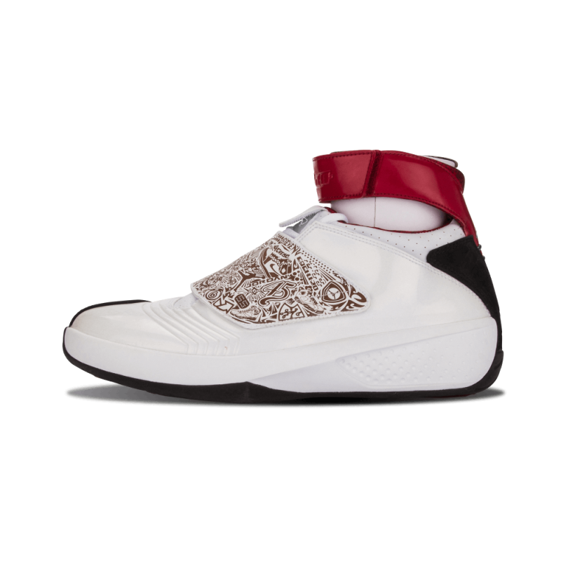 "Air Jordan 20 ""Quickstrike"" White/Varsity Red-Black 310455-161"