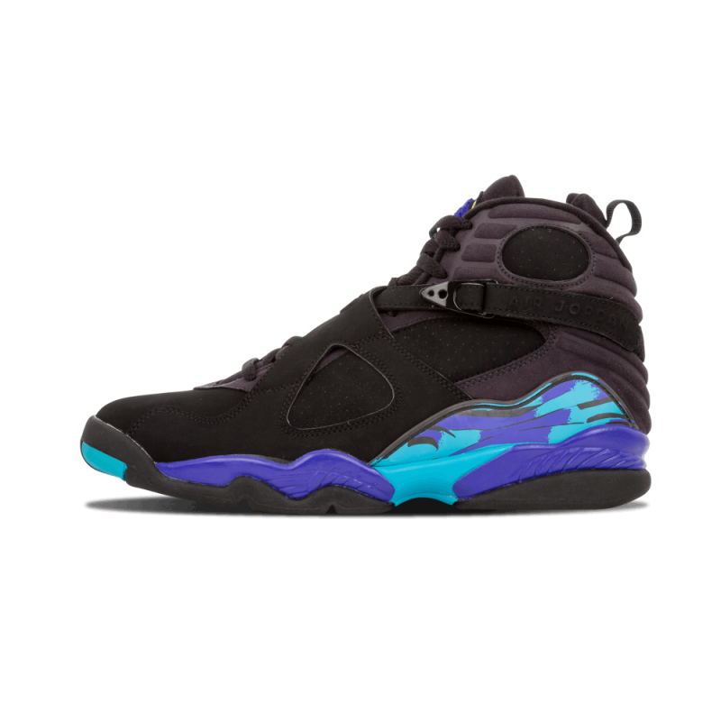 "Air Jordan 8 Retro ""Aqua"" Black/Bright Concord305381-041 Cyber Monday"