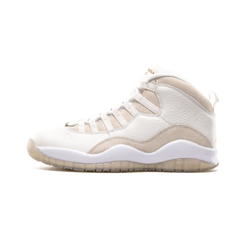 "Air Jordan 10 Retro OVO ""OVO"" Summit White/Metallic Gold-White 819955-100"
