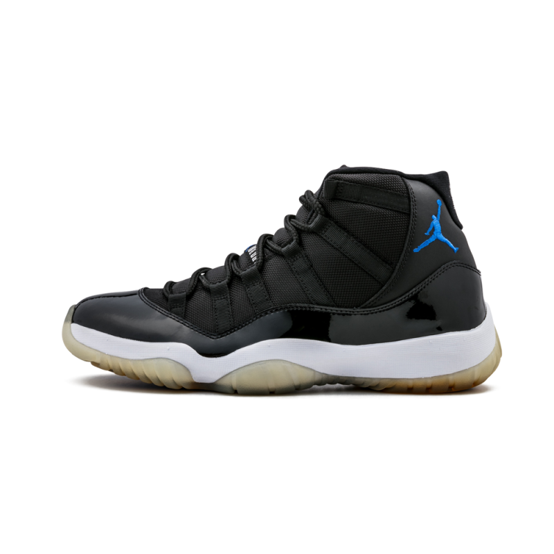 "Air Jordan 11 Retro ""Space Jam"" Black/Varsity Royal-White 378037-041"