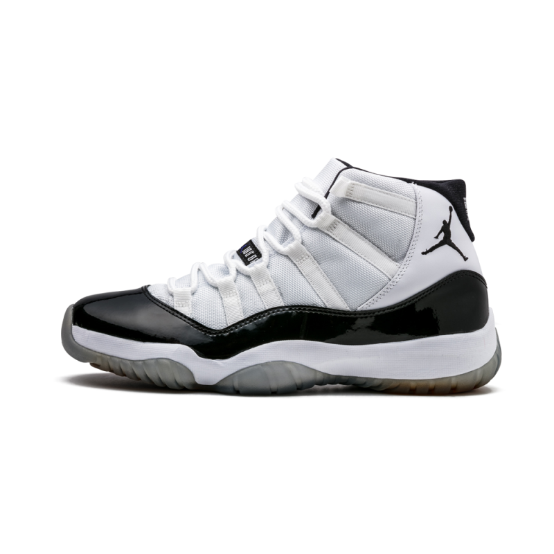 "Air Jordan 11 Retro ""Concord"" White/Black 378037-107 Cyber Monday"