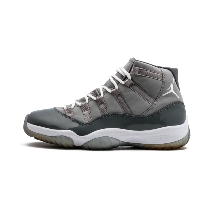 "Air Jordan 11 Retro ""Cool Grey"" Medium Grey/White 378037-001"