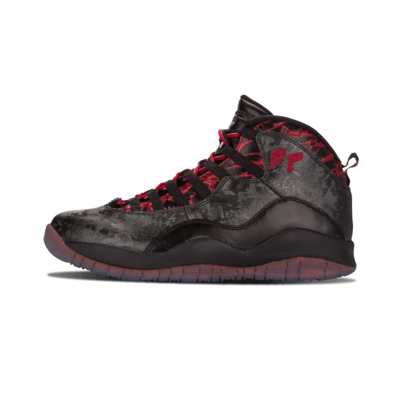 "Air Jordan 10 Retro DB ""Doernbecher"" Black/Gym Red 636214-066"