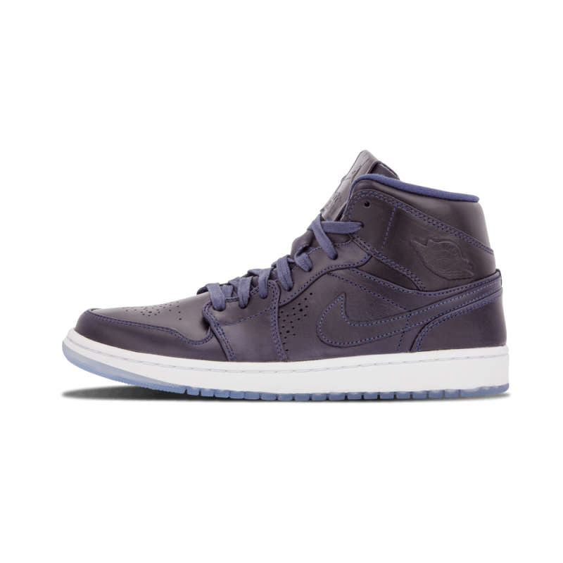 Air Jordan 1 Mid Nouveau Navy/White 629151-401 Cyber Monday