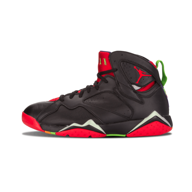 "Air Jordan 7 Retro ""Marvin The Martian"" Black/Red 304775-029"