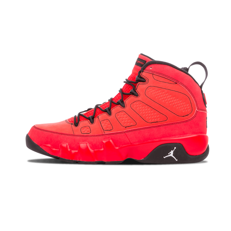 "Air Jordan 9 Retro ""Motorboat Jones"" Challenge Red/White-Black 302370-645"