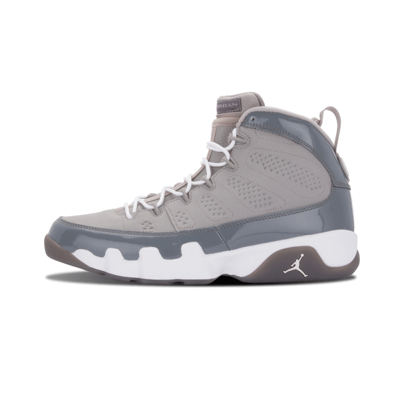 "Air Jordan 9 Retro ""Cool Grey"" Medium Grey/White-Cool Grey 302370-015"