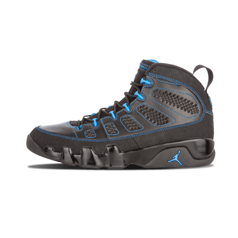 "Air Jordan 9 Retro ""Photo Blue"" Black/White-Photo Blue 302370-007"