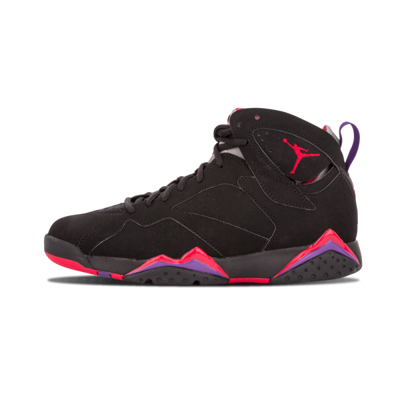 "Air Jordan 7 Retro ""Raptor"" Black/Red-Purple 304775-018 Black Friday"