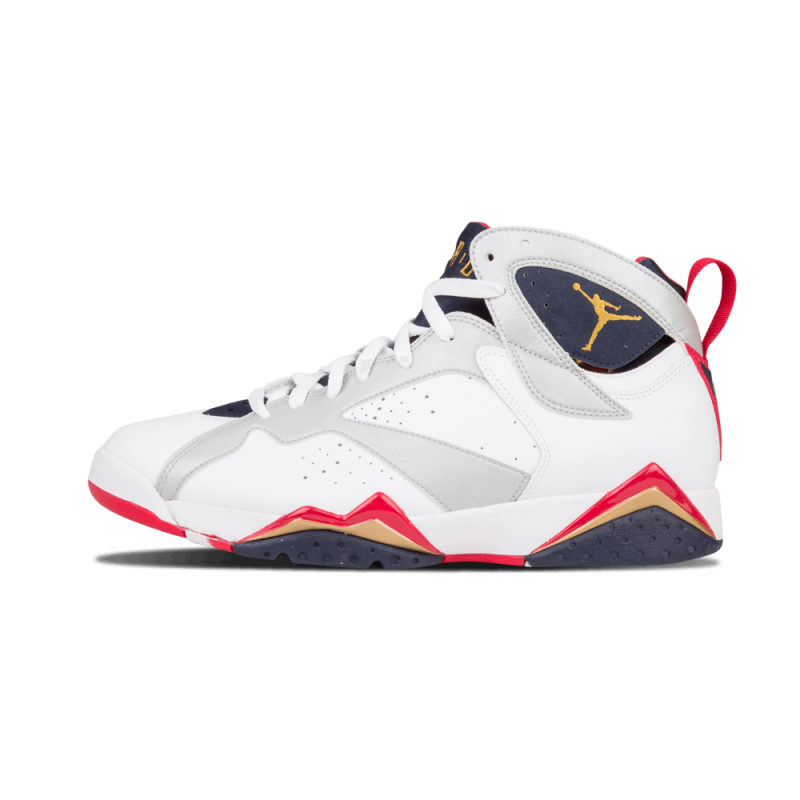 "Air Jordan 7 Retro ""Olympic"" White/Mtllc Gold/Red 304775-135 Black Friday"