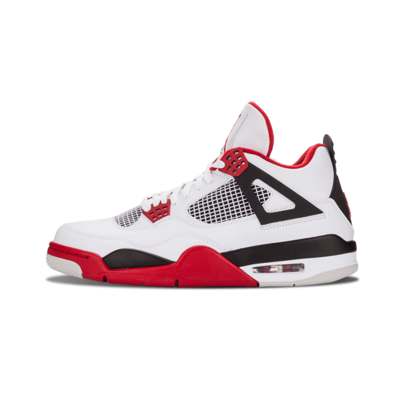 "Air Jordan 4 Retro ""Fire Red"" White/Varsity Red-Black 308497-110"