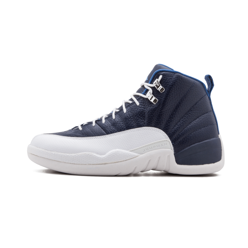 "Air Jordan 12 Retro ""Obsidian"" Obsidian/Blue-White-Blue 130690-410"