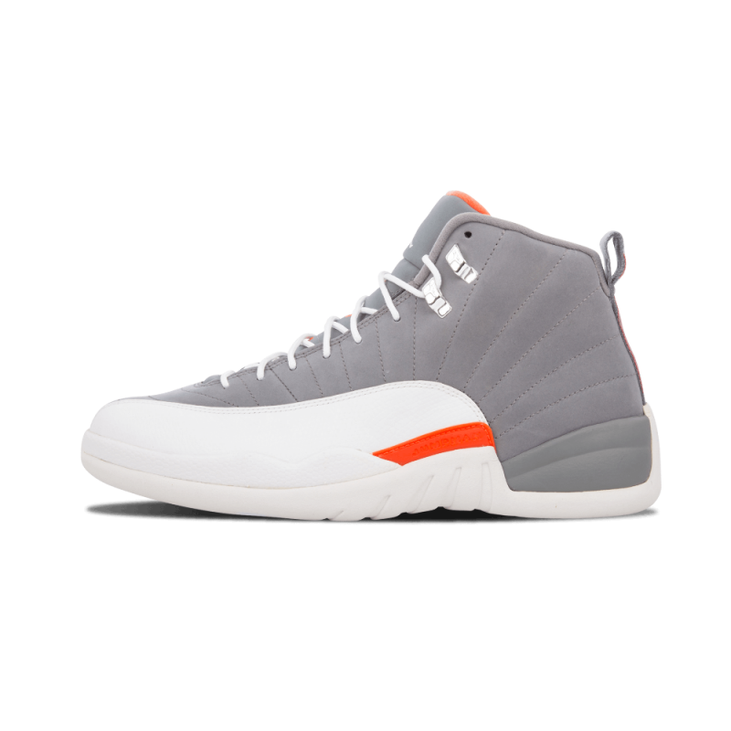 "Air Jordan 12 Retro ""Cool Grey"" Cool Grey/White-Team Orange 130690-012"