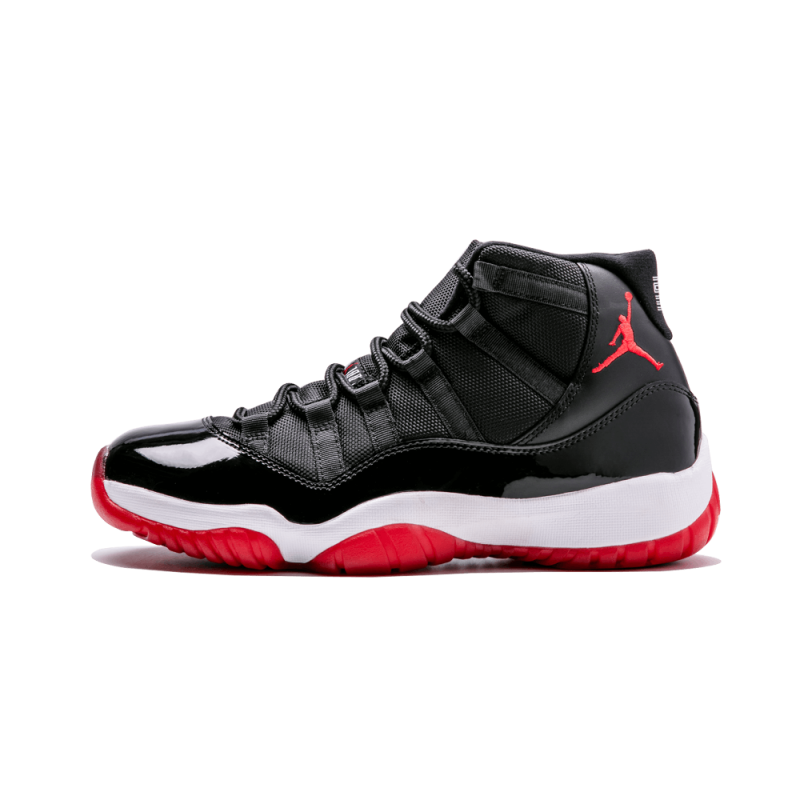 "Air Jordan 11 Retro ""Bred"" Black/Varsity Red-White 378037-010 Black Friday"