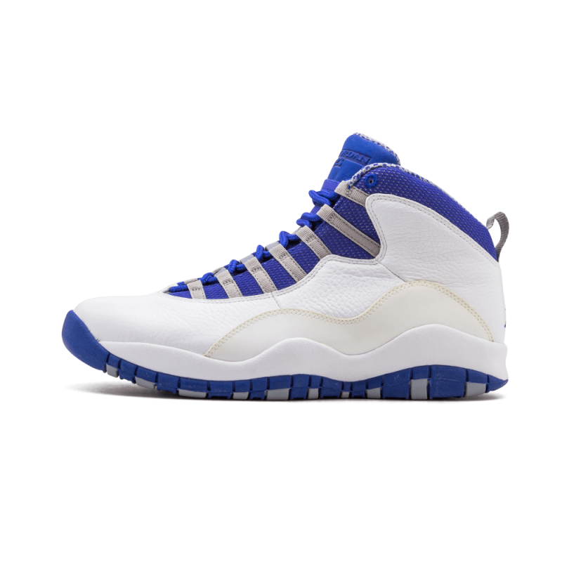 Air Jordan 10 Retro TXT White/Old Royal-Stealth 487214-107 Black Friday