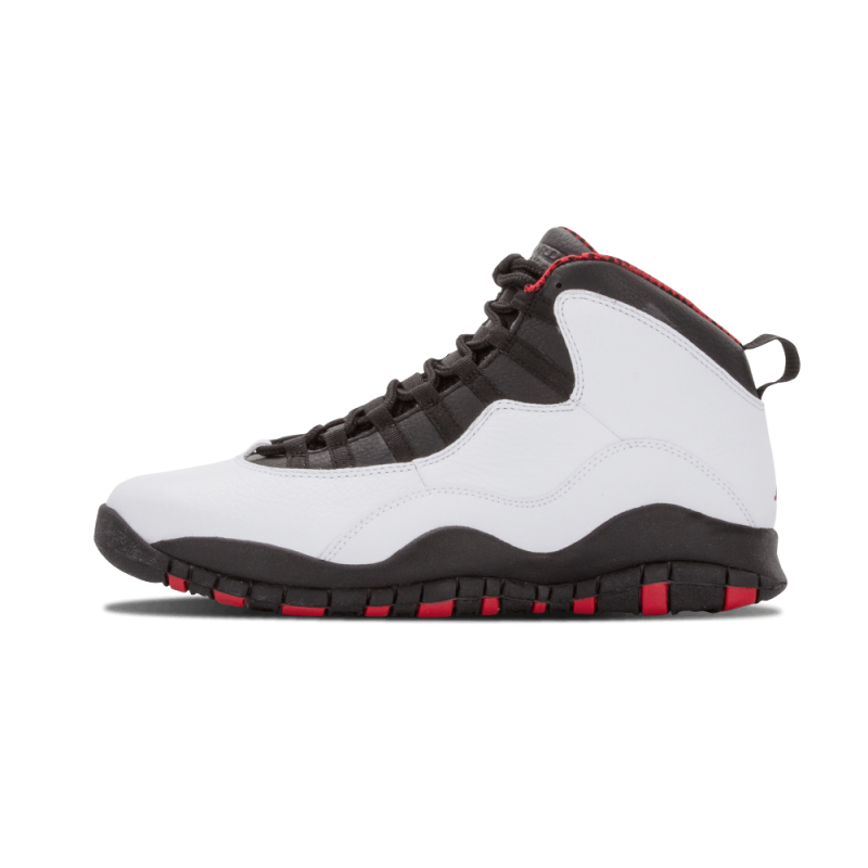 "Air Jordan 10 Retro ""Chicago"" White/Varsity Red-Black 310805-100"