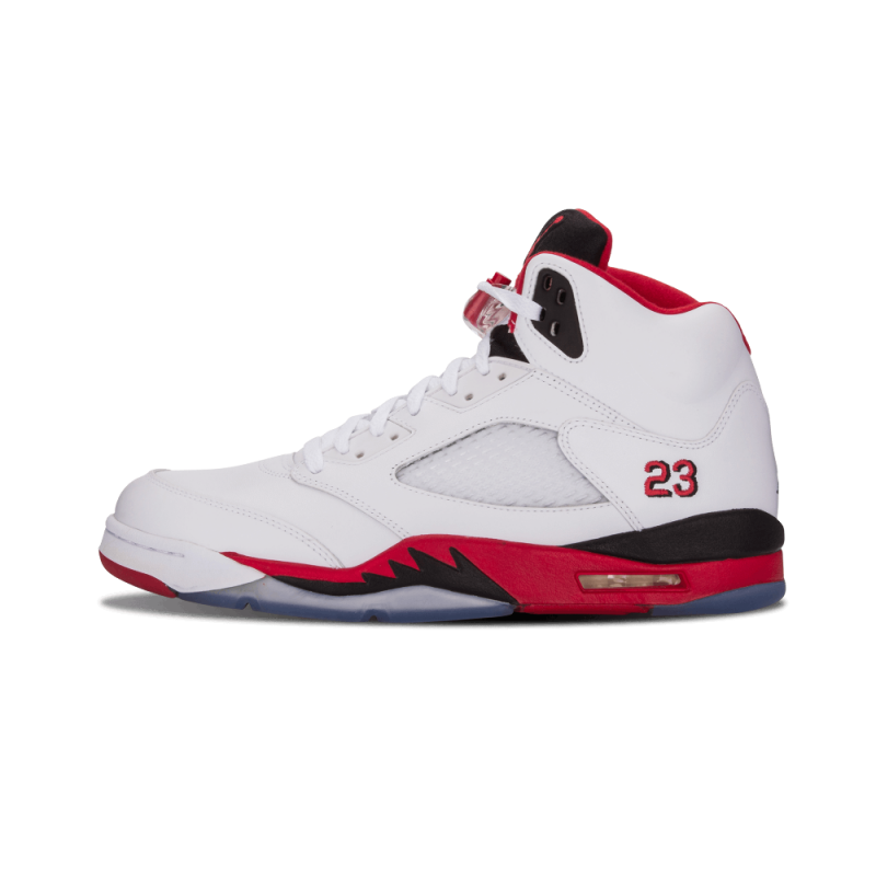 "Air Jordan 5 Retro ""Fire Red"" White/Fire Red-Black 136027-120"