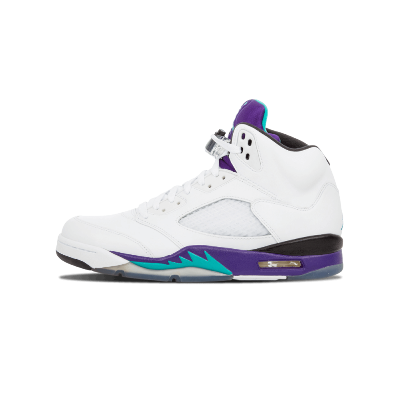"Air Jordan 5 Retro ""Grape"" White/New Emerald-Grp Ice-Black 136027-108"