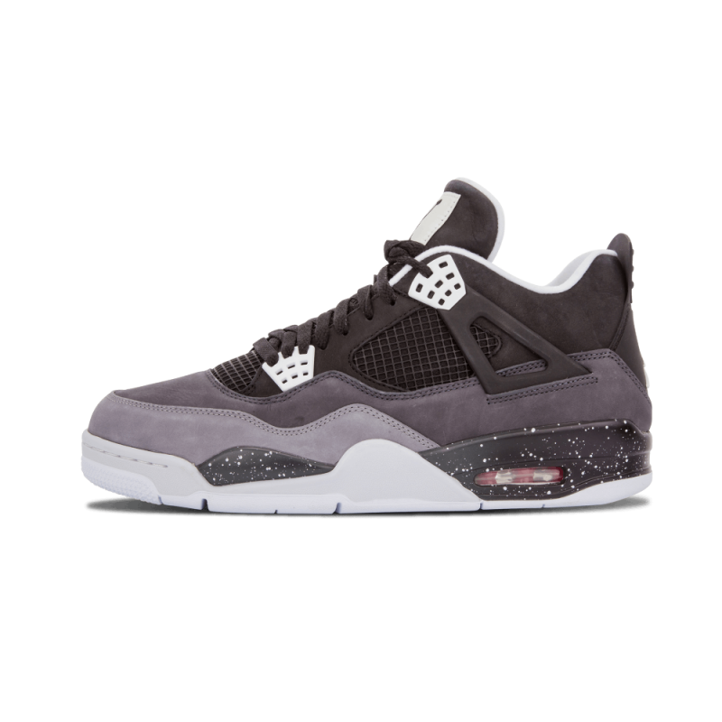 "Air Jordan 4 Retro ""Fear Pack"" Black/White-Cool Grey-Pr Pltnm 626969-030"
