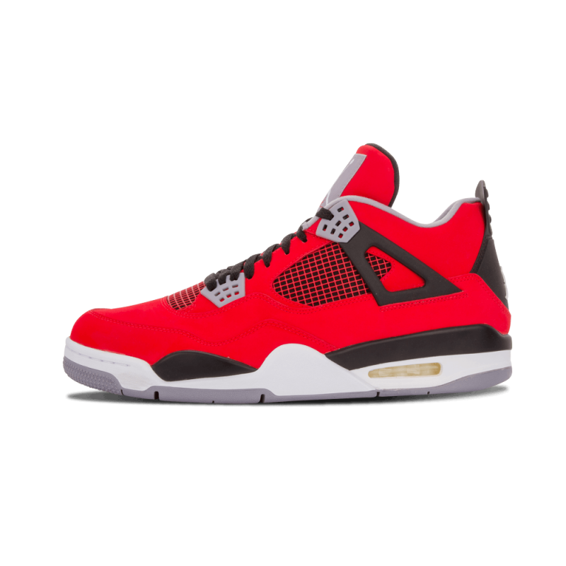"Air Jordan 4 Retro ""Toro Bravo"" Fire Red/White-Black-Grey 308497-603"