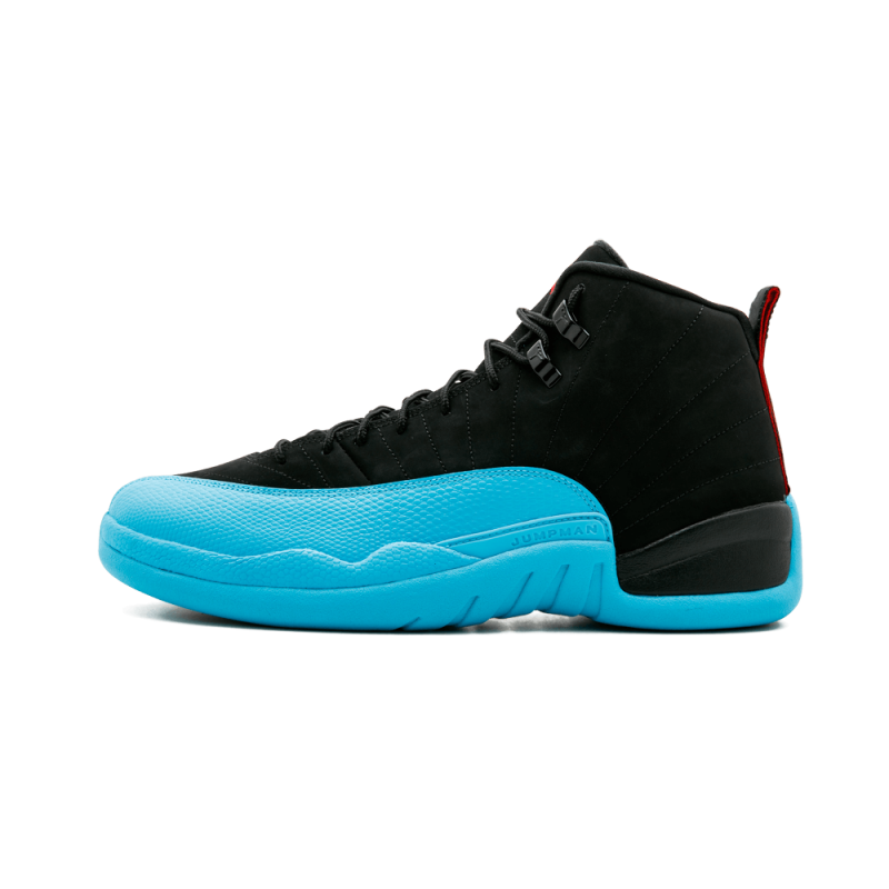 "Air Jordan 12 Retro ""Gamma"" Black,Gym Red-Gamma Blue 130690-027"