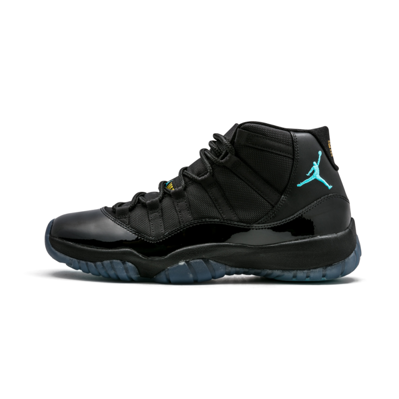 "Air Jordan 11 Retro ""Gamma"" Black/Gamma Blue-Varsity Maize 378037-006"