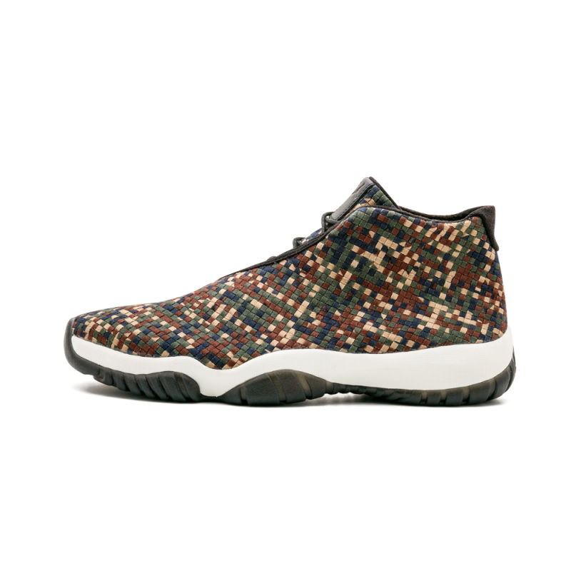 "Air Jordan Future Premium ""Camo"" Dark Army/Black-Sail 652141-301"