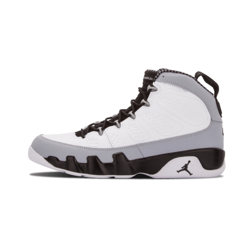 "Air Jordan 9 Retro ""Barons"" White/Black-Wolf Grey 302370-106 Cyber Monday"