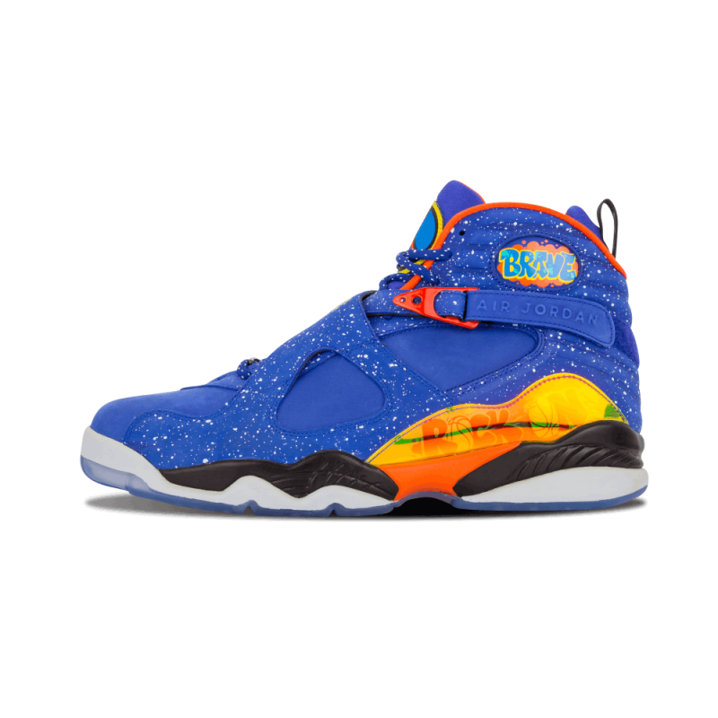 "Air Jordan 8 Retro DB ""Doernbecher"" Hyper Blue/Electro Orange-Black 729893-480"