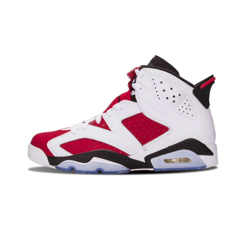 "Air Jordan 6 Retro ""Carmine"" White/Carmine-Black 384664-160 Cyber Monday"