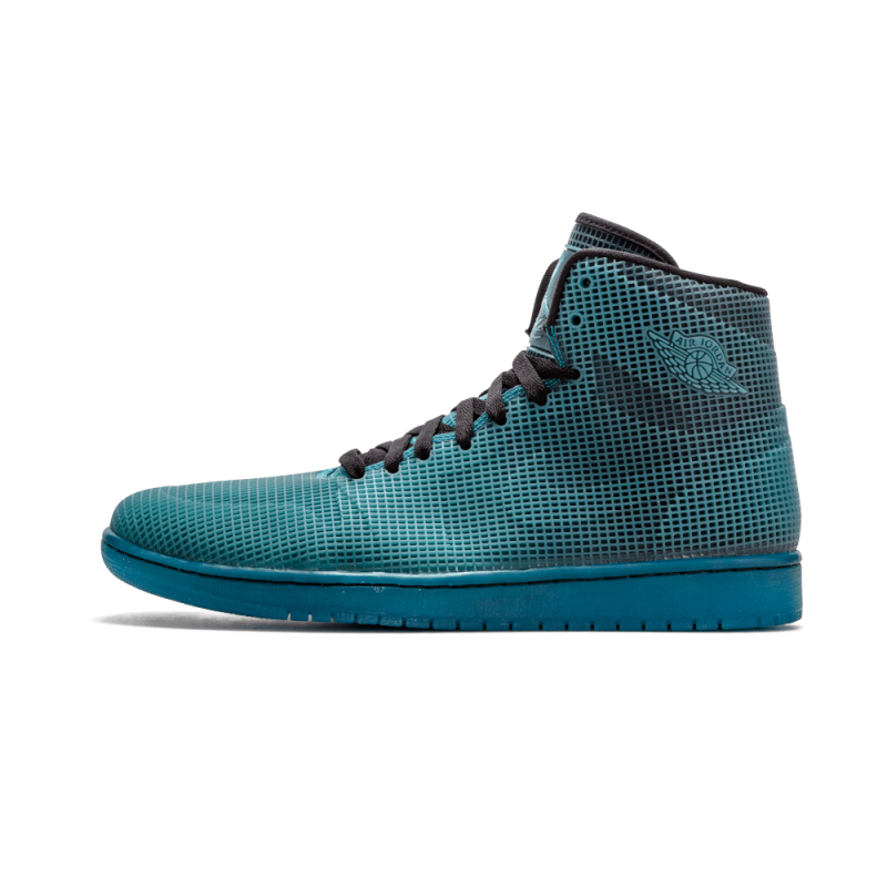 "Air Jordan 1 4Lab1 ""4Lab1"" Black/Tropical Teal 677690-020 Cyber Monday"